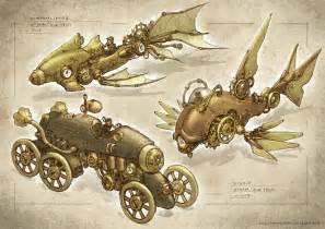 Fantastic Free Interior Design steampunk vehicles by elle shengxuan shi on deviantart