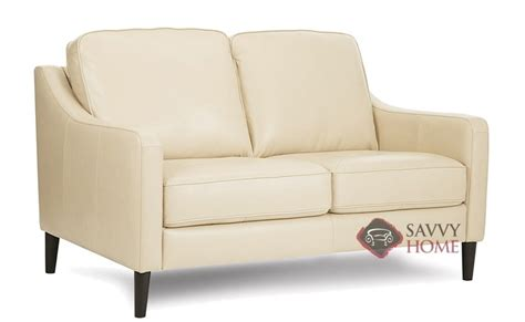 palliser leather loveseat andros leather loveseat by palliser is fully customizable