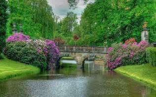 the most beautiful of world garden bridge wallpaper hd
