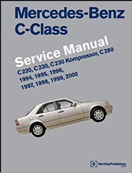 service manual service manual for a 1999 mercedes benz slk class mercedes slk 1998 2004 mercedes benz c class w202 service manual 1994 1995 1996 1997 1998 1999 2000 c220