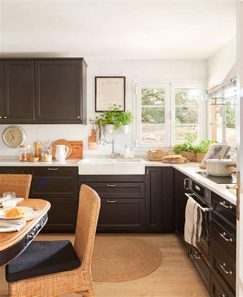 como pintar los muebles de la cocina paso  paso