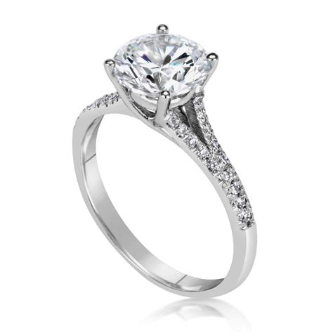2 75 ct cut d si1 solitaire engagement ring