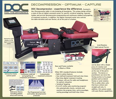 spinal decompression table spinal decompression of spinal decompression