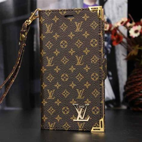 Gucci Wallet Brown For Samsung Galaxy Iphone Xperia lv galaxy note 4 wallet louis vuitton phone cover