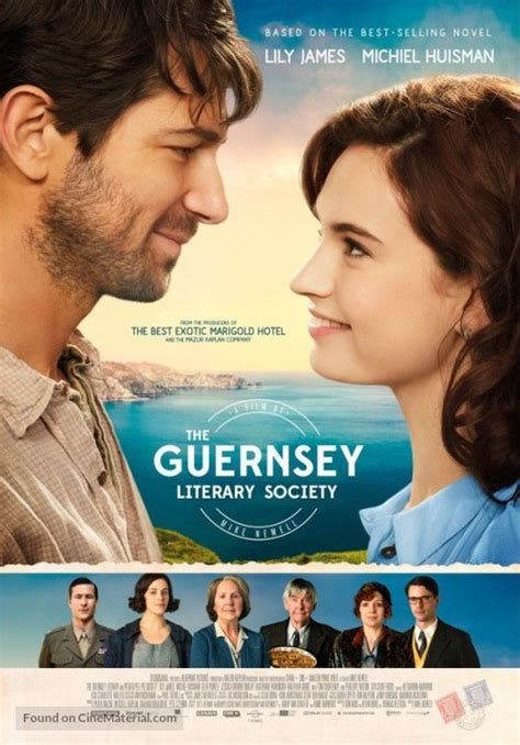 the guernsey literary and the guernsey literary and potato peel pie society dutch movie poster