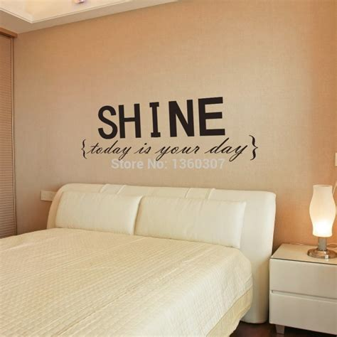 bedroom wall decals quotes shine quotes promotion shop for promotional shine quotes