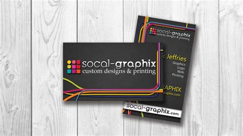 Printing Services Business Cards