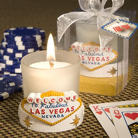 Wedding Favors Las Vegas by Fabulous Las Vegas Candle Favors