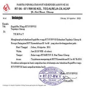 sumber informasi undangan resepsi peringatan hut ri ke 66