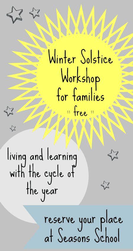 winter solstice crafts for winter solstice activities for children at seasons school