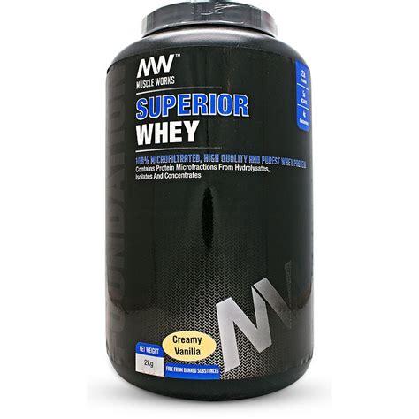 Superior Whey works superior whey
