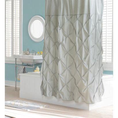 light grey shower curtain threshold pinch pleat shower curtain gray marble