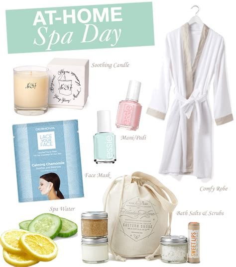 a hue at home spa day
