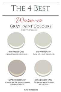 warm grey paint colors the 4 best warm gray paint colours sherwin williams