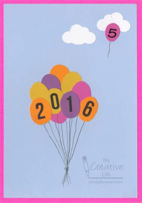 new years crafts new year s balloon craft family crafts