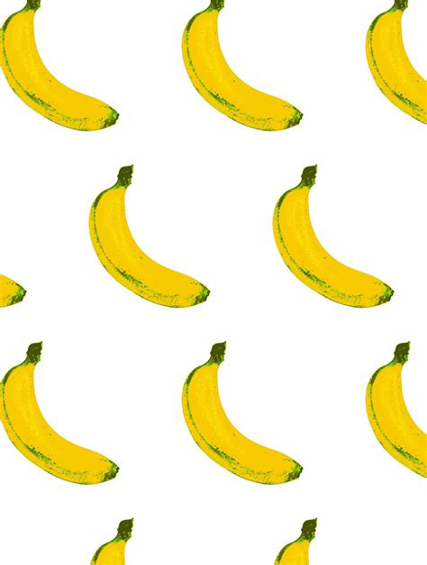 banana wallpaper pattern b a n a n a s 183 flavor paper