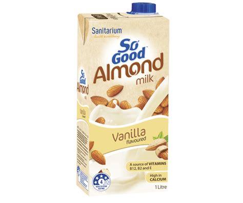 Monchan Almond Milk Almond Vanilla 250ml so coconut milk unsweetened sanitarium new zealand