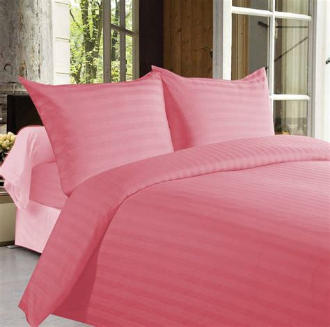 buy bed sheets buy bed sheets with stripes 350 thread count pink online