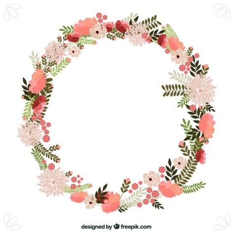 Benihbijibibit Bunga Tulip Blanc flowers wreath vector free
