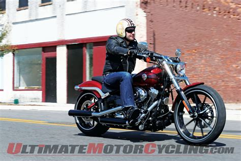 hd review 2013 harley davidson breakout review