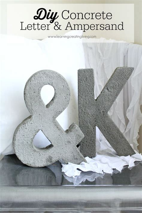 concrete craft projects 119 best images about paper mache letters on