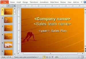 sales presentation powerpoint template sales presentation template ppt yearly sales plan