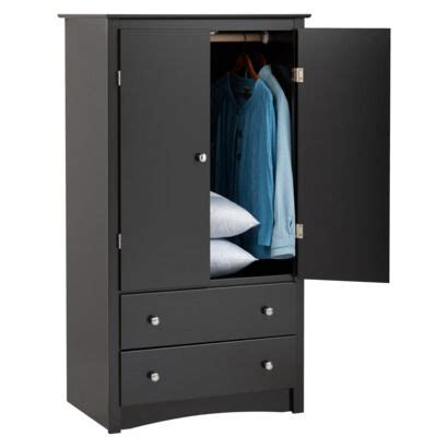 Black Clothing Armoire by Clothing Armoire Black Target Projects To Try