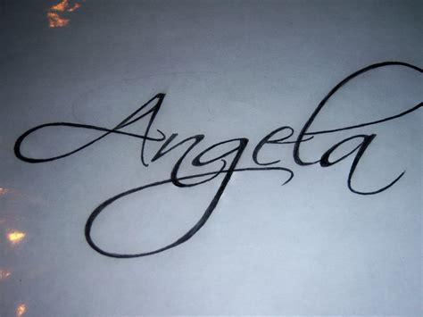 angela tattoo the font tattoos