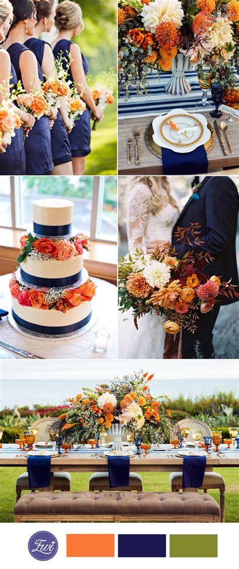 wedding color ideas top 10 fall wedding color ideas for 2017 trends