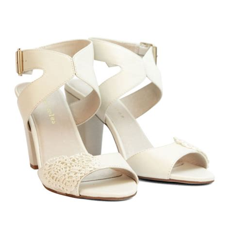 Wedding Shoes Thick Heel sale leather ivory wedding shoes summer