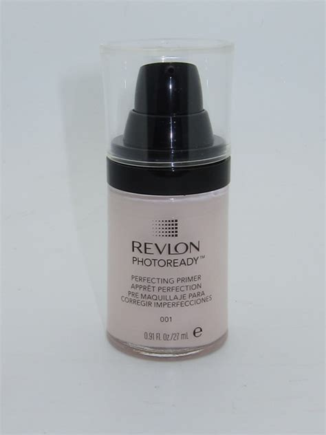 Revlon Primer revlon photoready perfecting primer review swatches