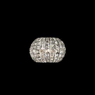 kristall wandleuchte wandleuchte kristall transparent metall chrom kaufen