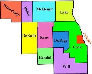 Chicago County Map by Chicagoland Homeschool Network 187 Homeschool Support Groups