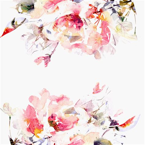 contemporary spring floral wallpaper project nursery