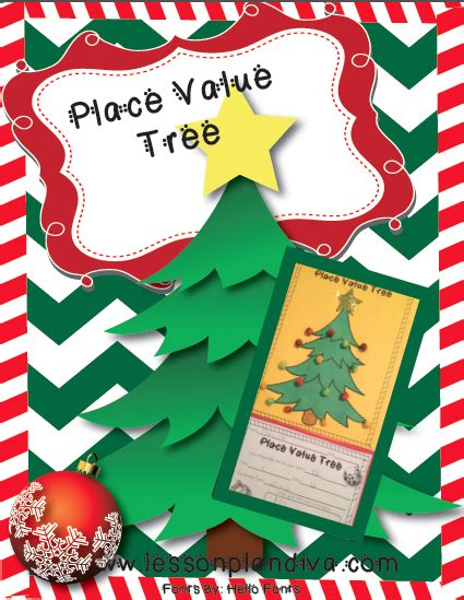 free place value tree the lesson plan diva