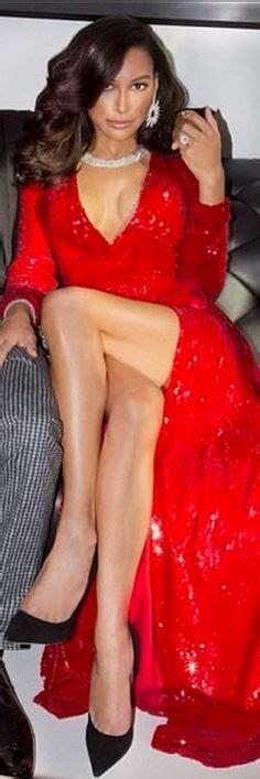 Ao Scarlet Maroon Aldridge Steals The Spotlight In Plunging Scarlet Cut