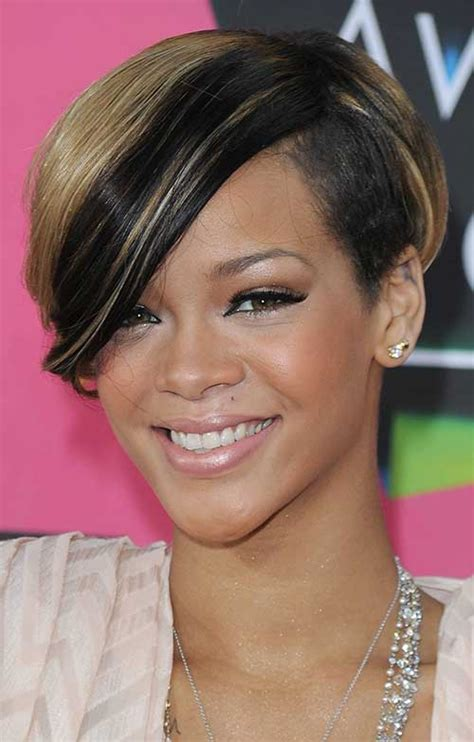 short hair cut for african women with round face 20 cute bob hairstyles for black women short hairstyles