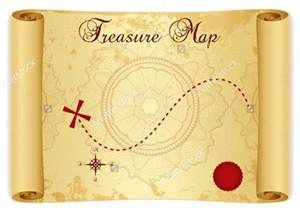 Pirate Scroll Template by 6 Treasure Map Templates Free Excel Pdf Documents
