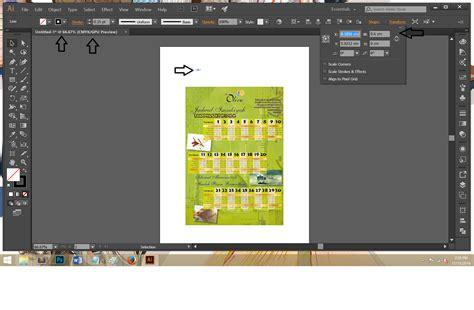 cara membuat brosur di adobe illustrator cara membuat kress potong manual horizontal part 1