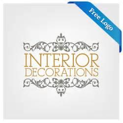 logo decoration free vector interior decorations logo in ai