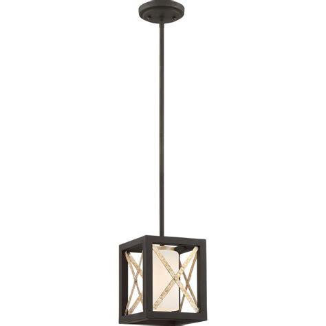 Matte Black Pendant Light Filament Design Alferov 1 Light Matte Black Pendant Cli Acg801003 The Home Depot