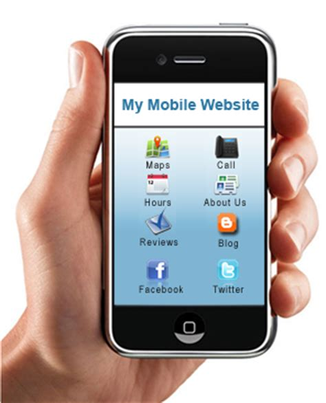 mobile websites smart phone integration