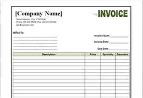professional services invoice template  service
