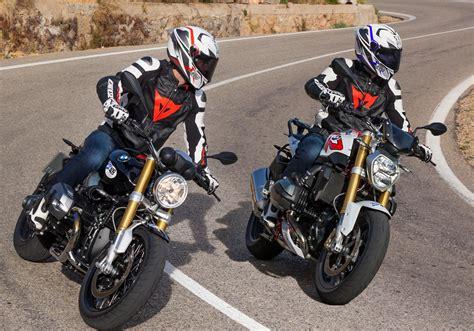 Motorrad Navigation Vergleichstest by Bmw R Ninet Vs Bmw R 1200 R 2015 Vergleich Testbericht