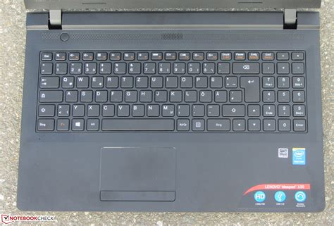 Keyboard Laptop Lenovo Ideapad 100 lenovo ideapad 100 15 notebook review notebookcheck net