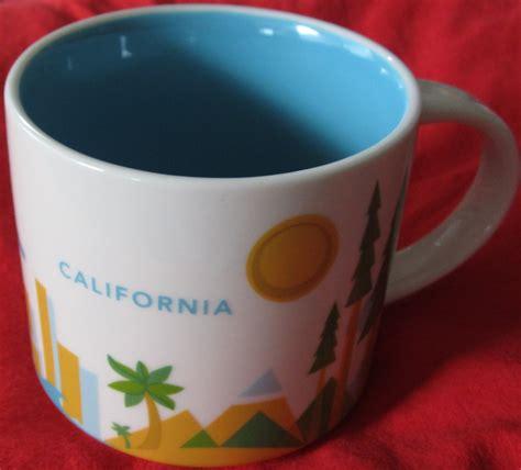 2013 starbucks you are here starbucks 2013 you are here collection california 14 ounce collector coffee mug new historical
