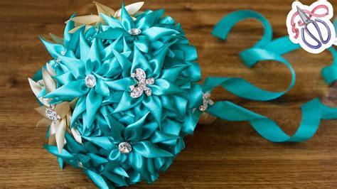 Wedding Bouquet Kanzashi Tutorial by 1000 Images About Kanzashi Tutorial Diy On