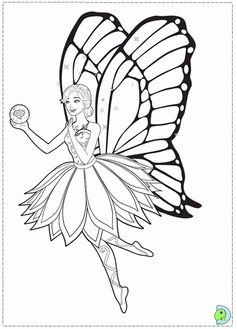 barbie mariposa coloring pages az coloring pages