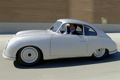 porsche gmund leno and seinfeld get coffee in 1949 porsche gm 252 nd coupe