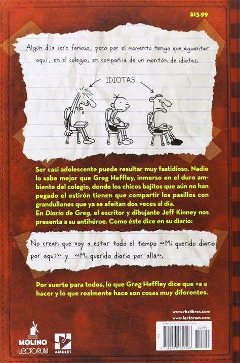 descargar pdf diario de greg un renacuajo diary of a wimpy kid libro diario de greg un renacuajo pdf